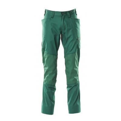 Mascot 18379-230 Broek met kniezakken groen