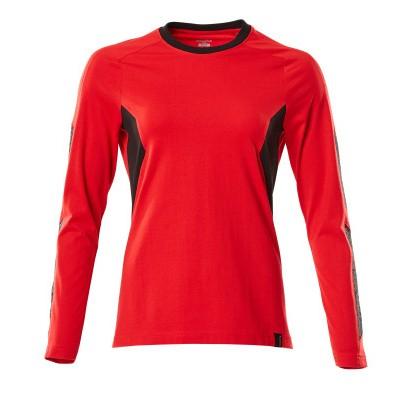 Foto van Mascot 18391-959 T-shirt, met lange mouwen signaal rood/zwart