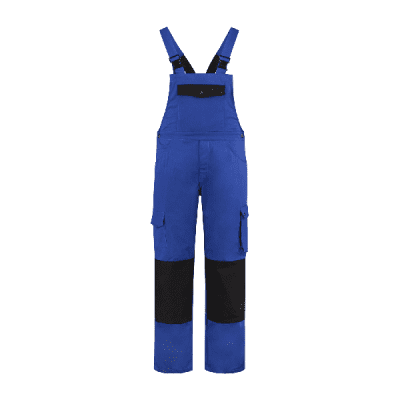 Foto van Bestex Tuinoverall 60%katoen/40% polyester| TBC6040 | 0119-korenblauw/zwart