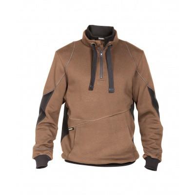 Foto van Dassy sweater STELLAR | 300394 | leembruin/antracietgrijs