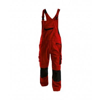 Dassy bretelbroek VOLTIC | 400148 | rood/zwart