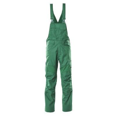Mascot 18569-442 Amerikaanse overall met kniezakken groen