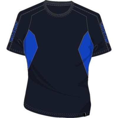 Mascot 18392-959 T-shirt donker marine/azur blauw