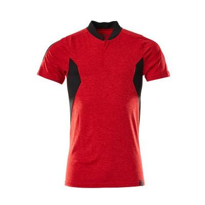 Foto van Mascot 18083-801 Poloshirt signaal rood/zwart