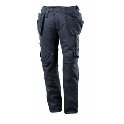 Foto van Broek met spijkerzakken, lichtgewicht | 17731-442 | 010-donkermarine