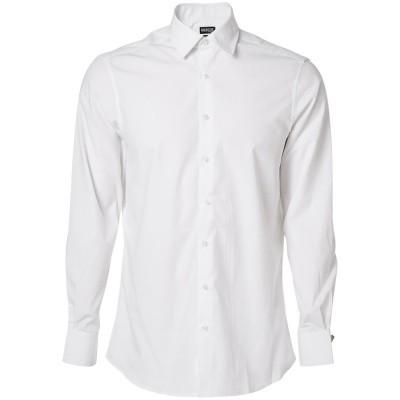 Overhemd popeline, moderne pasvorm, l. m | 50633-984 | 06-wit
