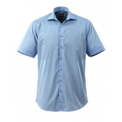 Overhemd popeline, ruime pasvorm, k. mou | 50632-984 | 071-lichtblauw