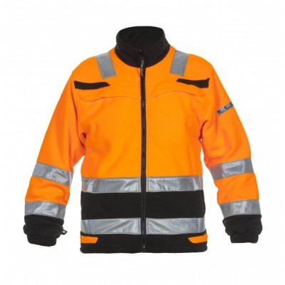 Foto van Hydrowear Torgau fleecejack EN471 | 04026026-149 | oranje/zwart
