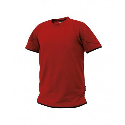 Dassy t-shirt KINETIC | 710019 | rood/zwart