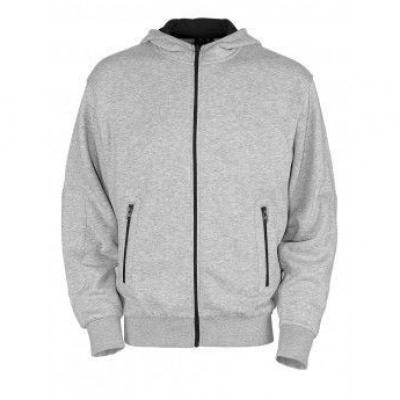Mascot Altea Hooded sweater met rits 50423, L, grijsmelée
