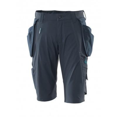 Foto van Shorts, afneembare spijkerzakken,stretch | 17149-311 | 010-donkermarine