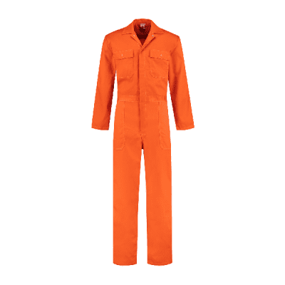 Bestex overall 100% katoen| OVK100 | 014-oranje