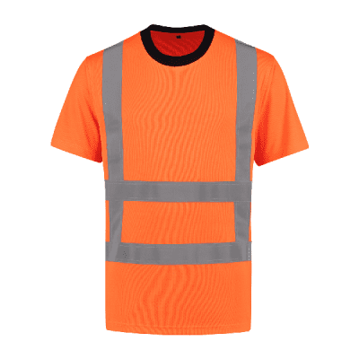 Foto van T-shirt RWS 100% polyester| TSRWS100 | 014-oranje