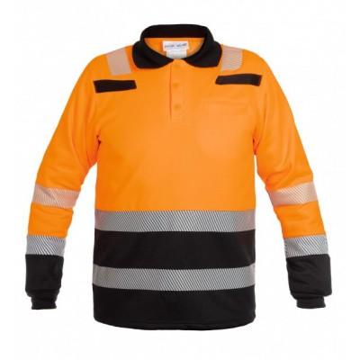 Foto van Hydrowear Tokio sweatshirt EN471 | 040470-149 | oranje/zwart