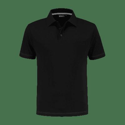 Indushirt PS 200 Polo-shirt zwart