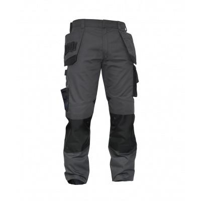 Dassy stretch broek MAGNETIC | 200908 | antracietgrijs/zwart