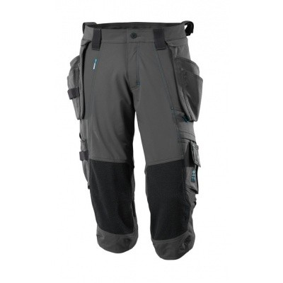 Foto van Length Trousers, holster pockets, str. Donker antraciet