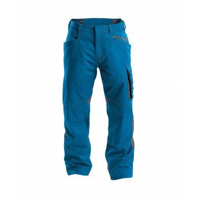 Foto van Dassy stretch broek SPECTRUM | 200892 | azuurblauw/antracietgrijs