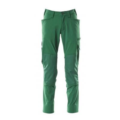 Mascot werkbroek met kniezakken | 18079-511 | 03-groen