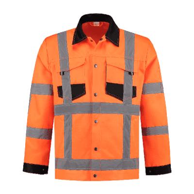 Foto van Werkjack RWS oranje 80% polyester/20% katoen| WJRWS8020 | 014-oranje