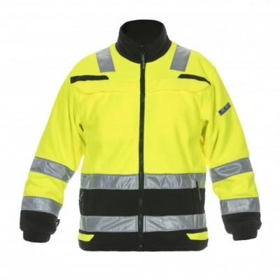 Hydrowear Torgau fleecejack EN471   04026026-179   geel/zwart