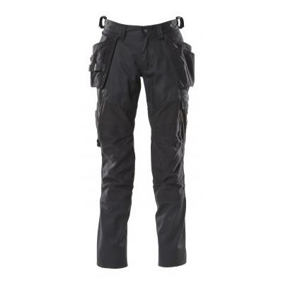 Mascot 18531-442 Broek met knie- en spijkerzakken zwart