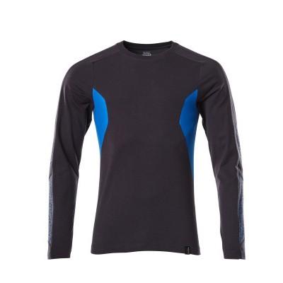 Foto van Mascot 18381-959 T-shirt, met lange mouwen donker marine/azur blauw