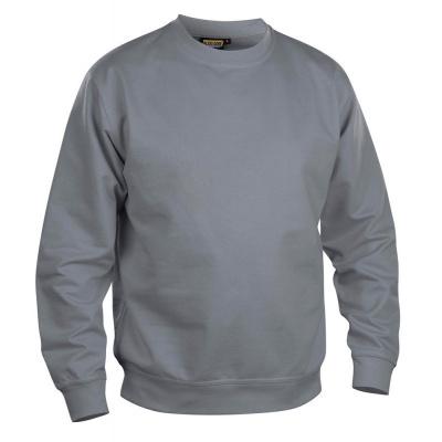 Foto van Blaklader uni sweater 3340-1158 grijs, XL