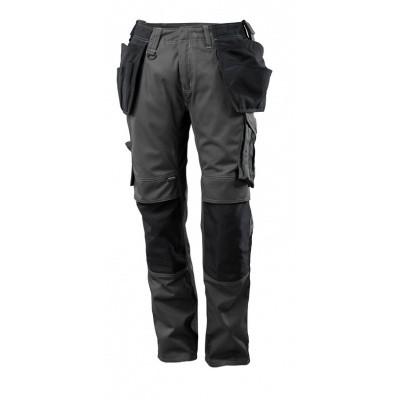MASCOT Unique werkbroek met spijkerzakken donker antraciet/zwart | 17631-442