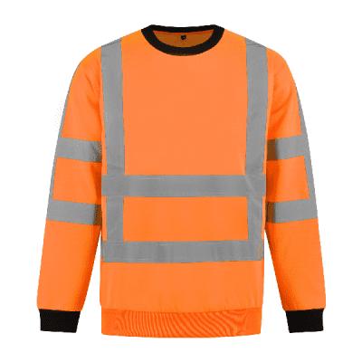 Foto van Sweatshirt RWS 100% polyester| SWRWS100 | 014-oranje