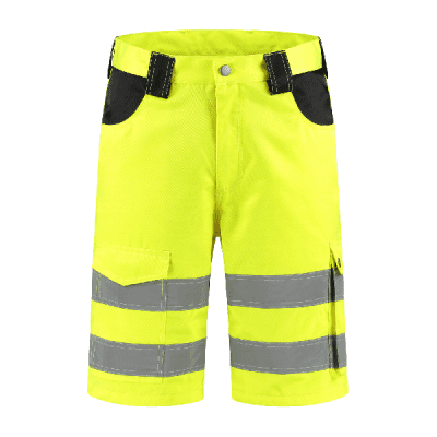 Short RWS geel 80% polyester/20% katoen| BKRWS8020 | 017-geel