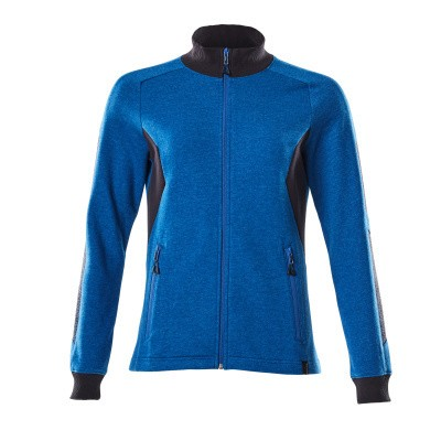Mascot 18494-962 Sweatshirt met rits azur blauw/donker marine