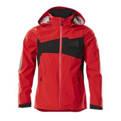 Mascot 18001 Outdoor shell jack, lichtgewicht, waterdicht signaal rood/zwart