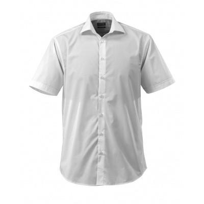 Foto van Overhemd popeline, ruime pasvorm, k. mou | 50632-984 | 06-wit