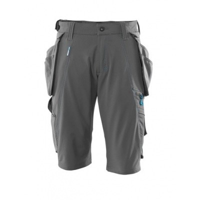 Foto van Shorts with detachable holster pockets donker antraciet