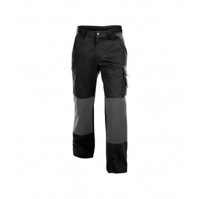 Dassy broek BOSTON | 200426 | zwart/cementgrijs |245g/m2