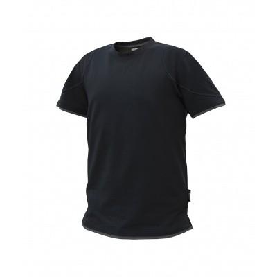 Foto van Dassy t-shirt KINETIC | 710019 | zwart/antracietgrijs