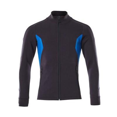 Mascot 18484-962 Sweatshirt met rits donker marine/azur blauw
