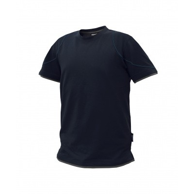 Foto van Dassy t-shirt KINETIC | 710019 | nachtblauw/antracietgrijs