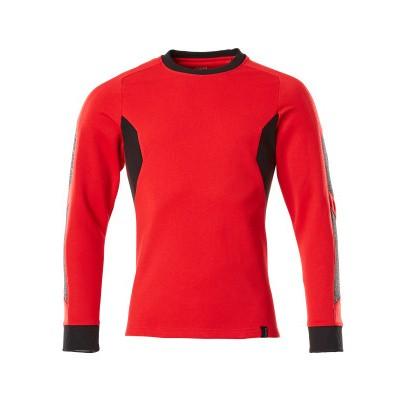 Mascot 18384-962 Sweatshirt signaal rood/zwart