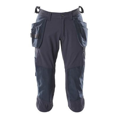 Foto van Mascot 18249-311 Driekwart broek met knie- en spijkerzakken donker marine