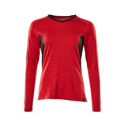 Foto van Mascot 18091-810 T-shirt, met lange mouwen signaal rood/zwart