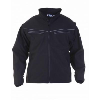Foto van Hydrowear Tirol softshelljack | 04025990-9 | zwart