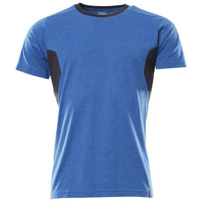 Mascot 18392-959 T-shirt azur blauw/donker marine