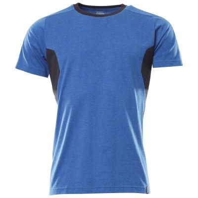 Foto van Mascot 18392-959 T-shirt azur blauw/donker marine
