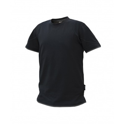 Dassy t-shirt KINETIC | 710019 | zwart/antracietgrijs