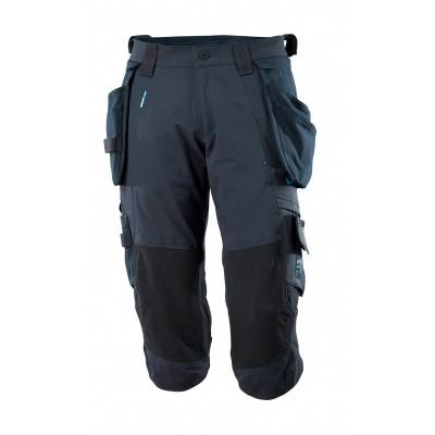 Foto van Driekwart broek, spijkerzakken, stretch | 17049-311 | 010-donkermarine