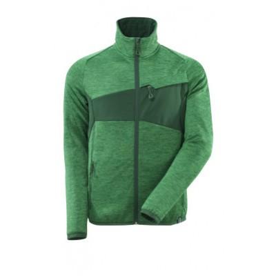 Mascot 18103-316 Fleecetrui met rits gras groen/groen