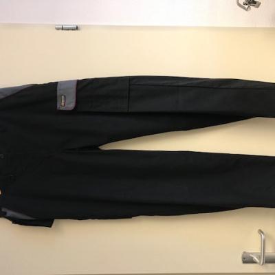 Blaklader dameswerkbroek 7104-1800-9994 zwart/grijs, C42
