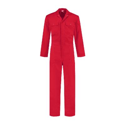 Foto van Bestex kinderoverall polyester/katoen| KOV6535 | 02-rood